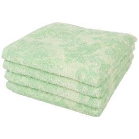 Premium Handtuch 4er-Set grün