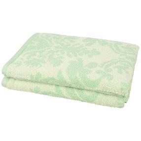 Premium Duschtuch 2er-Set grün
