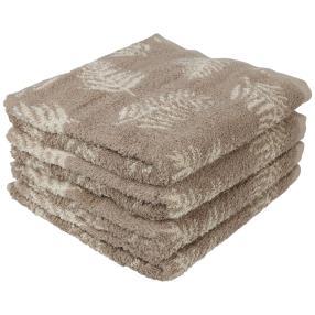 Premium Handtuch 4er Set, beige