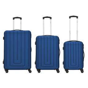 Packenger Razor 3er Set blau Hartschale
