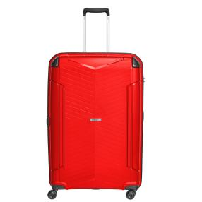 Packenger Premium Einzeltrolley rot Hartschale