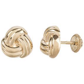 Ohrringe 585 Gelbgold