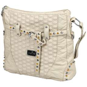 angel kiss Tasche stonewashed beige supersoft