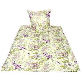 CoolSummer Bettwäsche 2-teilig, floral gemustert