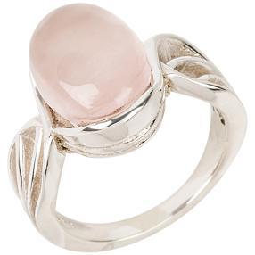 Ring 925 Sterling Silber Rosenquarz