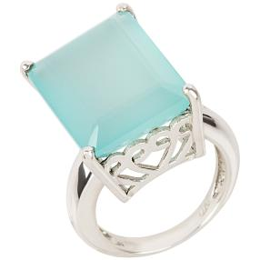 Ring 925 Sterling Silber Chalcedon