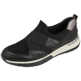 Relife® Damen-Slipper schwarz Glitzer