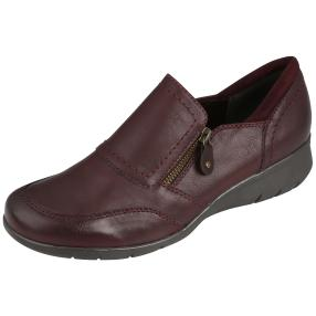 Relife® Damen-Slipper weinrot