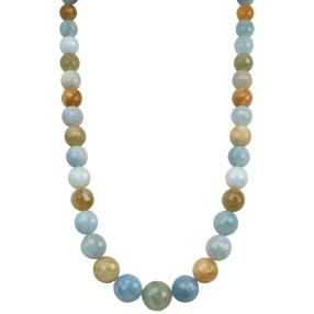 Collier Aquamarin multicolor