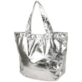 fabrizio Metallic Tasche silber