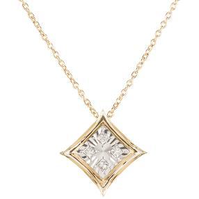 Anhänger mit Kette 585 Gelbgold Diamanten