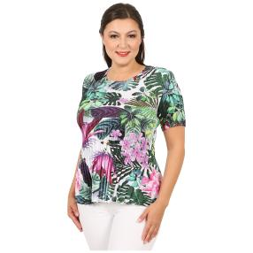 Jeannie Plissee-Shirt 'Ivie' multicolor (36-48)