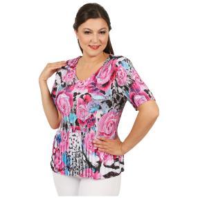Jeannie Plissee-Shirt 'Valeria' multicolor (36-48)