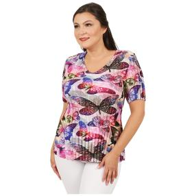 Jeannie Plissee-Shirt 'Ella' multicolor (36-48)
