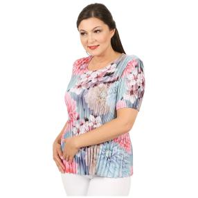 Jeannie Plissee-Shirt 'Evita' multicolor (36-48)