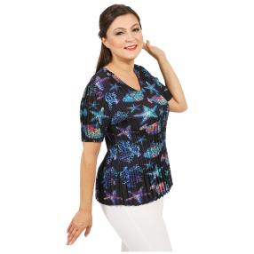 Jeannie Plissee-Shirt 'Marisa' multicolor (36-48)