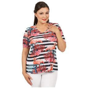 Jeannie Plissee-Shirt 'Lou' multicolor (36-48)
