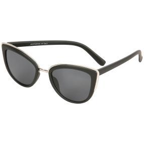 Damen Sonnenbrille schwarz