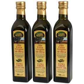 Cadel Monte Olivenöl, 3 Flaschen