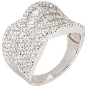 Ring 925 St. Silber rhodiniert Zirkonia