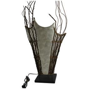 Darimana Lampe aus Zweigen 35x67cm