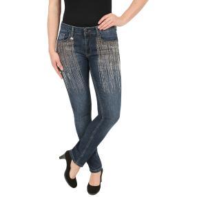 ManouLenz Jeans 'Citylights' dunkelblau