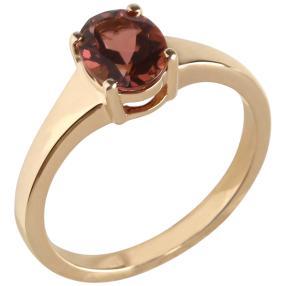 Ring 585 Gelbgold AAA Turmalin pink
