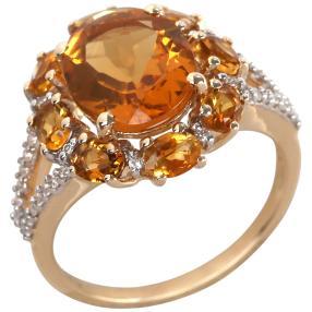 Ring 375 Gelbgold Citirn