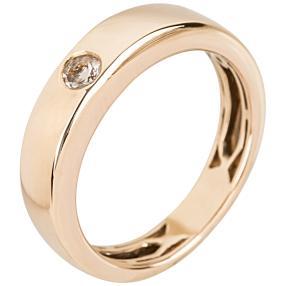 Ring 925 Sterling Silber rosévergoldet Morganit