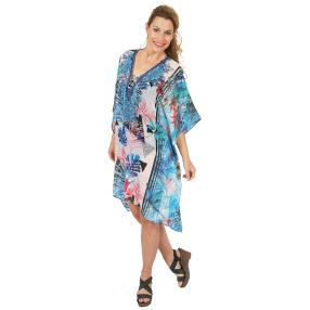 ÉTOILE DE MER Kaftan 'Chantal' multicolor