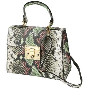 By Stefano Ghilardi Ledertasche multicolor