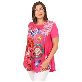 Damen-Shirt 'Marisol' pink/multicolor