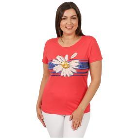 Damen-Shirt 'Flor' rot