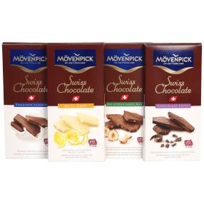 Mövenpick Schokoladen 4er Set