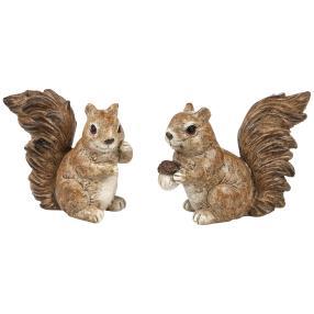 Eichhörnchen, 2er-Set, braun