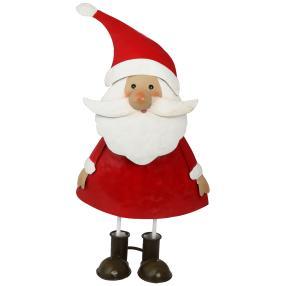 Weihnachtsmann Klaus rot-weiß, 23cm