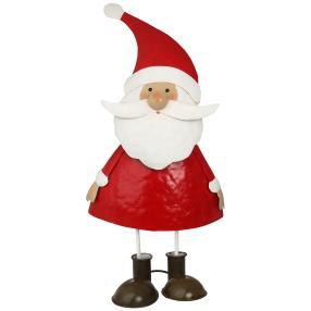 XL-Weihnachtsmann Klaus rot-weiß, 29cm