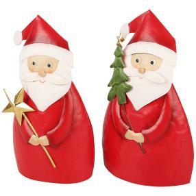 Weihnachtsmänner 2er-Set