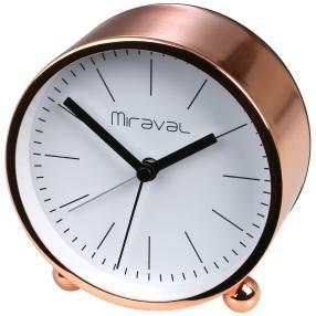 Miraval Wecker, Metall roségolden