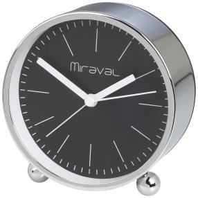Miraval Wecker, Metall silberfarben
