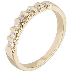 Ring 585 Gelbgold Brillanten 0,5ct