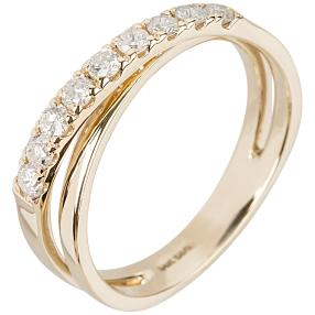 Ring 585 Gelbgold Brillanten 0,5 ct