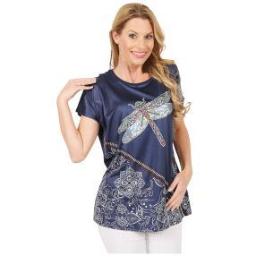 Damen-Shirt 'Daydream' marine/multicolor