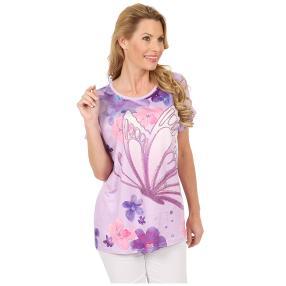 Damen-Shirt 'Watercolor Dream' lila/multicolor