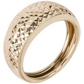 Ring 585 Gelbgold strukturiert
