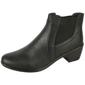 Cushion-walk® Absatz-Stiefeletten schwarz
