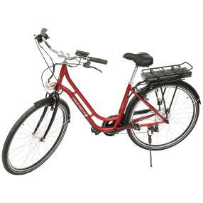 SAXONETTE E-Bike, bordeaux