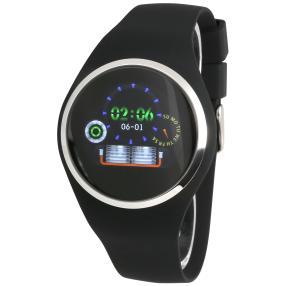 Atlanta Smartwatch 9703/7 mit Touchdisplay schwarz
