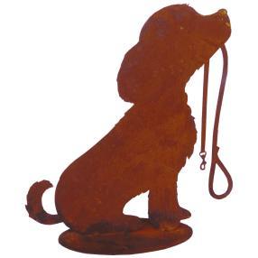 Rost-Dekohund Rocki, 30cm