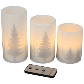LED-Kerzen Tannenbaum, 3er Set